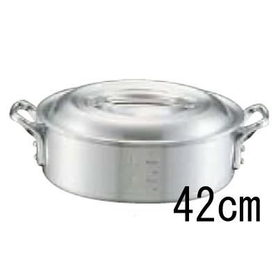 アルミ キング 外輪鍋 (目盛付) 42cm 【業務用】【送料無料】