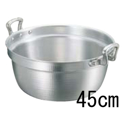 アルミキング 打出 料理鍋 (目盛付) 45cm 【業務用】【グループA】