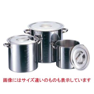 クローバー 電磁モリブデン寸胴鍋 (目盛付) 45cm 【業務用】【送料無料】