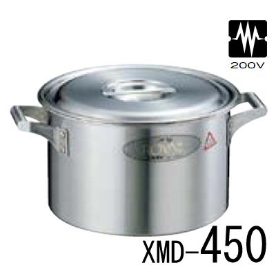 18-10 ロイヤル 半寸胴鍋 XMD-450 【業務用】【送料無料】