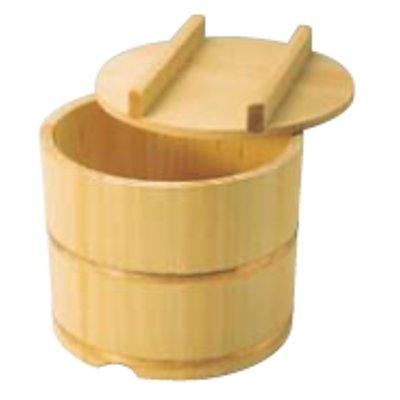 さわら製 飯枢 のせ蓋型 24cm 約7合 【業務用】【送料無料】