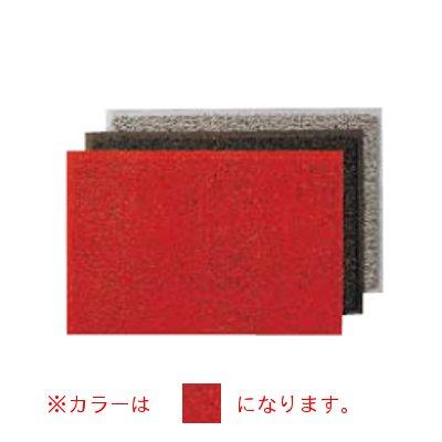 3M スタンダード・クッションSB(裏地付) 900×1.500mm 赤 【業務用】【送料無料】