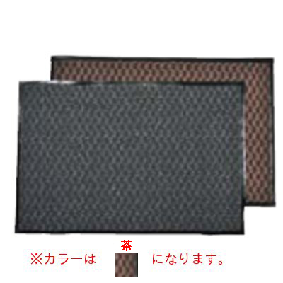3M エンハンスマット500 1.200×1.800mm 茶 【業務用】【送料無料】