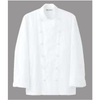 ドレスコックコート(男女兼用) AA461-3 ホワイト LL 【業務用】【グループA】
