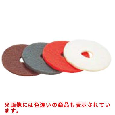 受注生産品/ポリッシャー用 フロアパッド 51ライン(5枚入) 白 磨き用 CP-12K用 【業務用】【送料無料】