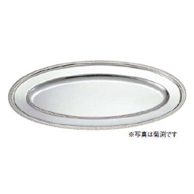 SW 18-8魚皿 B渕 30インチ 【業務用】【送料無料】