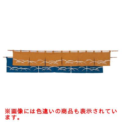 露芝 のれん N106-09 金茶/業務用/新品/テンポス:業務用厨房機器・家具・食器INBIS