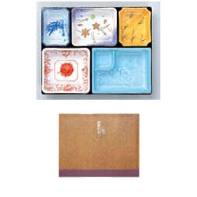 使い捨て 弁当容器 器美の追求シリーズ 紙BOX AS-110-A(100入)茜雲 【業務用】【送料別】
