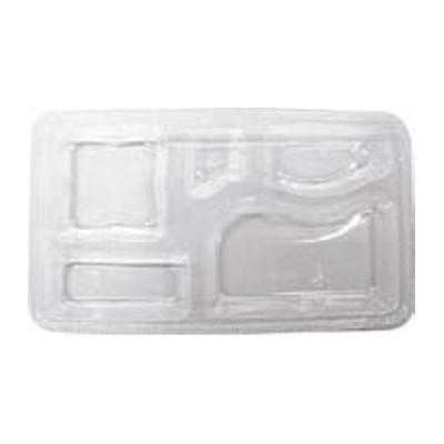 使い捨て 弁当容器 器美の追求シリーズ 副食固定 F-198用 透明中仕切 SP-198(3,000入) 【業務用】【送料別】