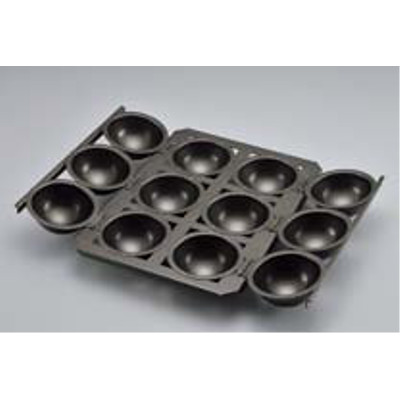アルタイト スーパーシリコン仕上 球体パン型 小 6連 【業務用】【送料無料】