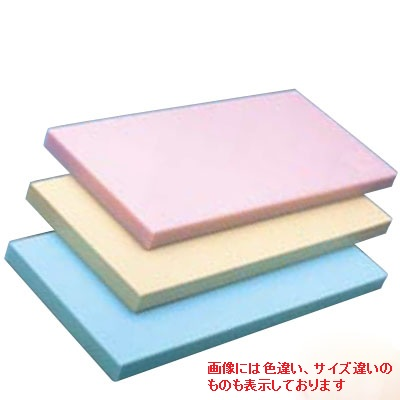 ヤマケン K型オールカラーまな板(両面シボ付) K6 750 450 30mm 10.1kg ブルー 【業務用】【送料別】