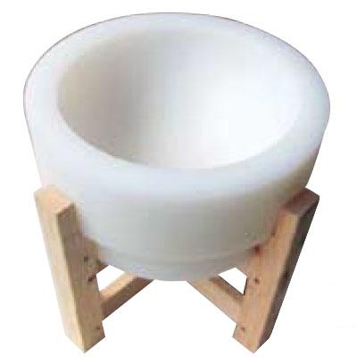 プラスチック餅臼 (木台付)【送料無料】【業務用】