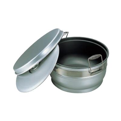 食缶 二重 アルマイト (スミフロン) 264-C 【業務用】【送料無料】