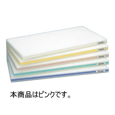 ポリエチレン抗菌 おとくまな板 OTK04 4層タイプ(両面シボ付) 500×250×30 ピンク 【業務用】【送料別】