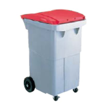リサイクルカート #200 セキスイ RCN210 搬送型 レッド 【業務用】【送料別】