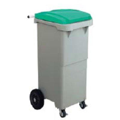 リサイクルカート #110 セキスイ 搬送型 グリーン 【業務用】【送料別】