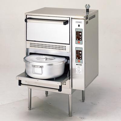 【炊飯器】【コメットカトウ】炊飯器 ガス式標準タイプ【CRA-100N】幅748×奥行707×高さ1200mm【送料無料】【業務用】【新品】