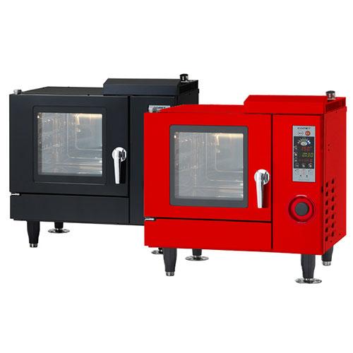 【業務用/新品】スチコン 電気スチームコンベクションオーブン ホテルパン3枚仕様 CSI3-E3 (ブラック/レッド) コメットカトウ1入/送料無料