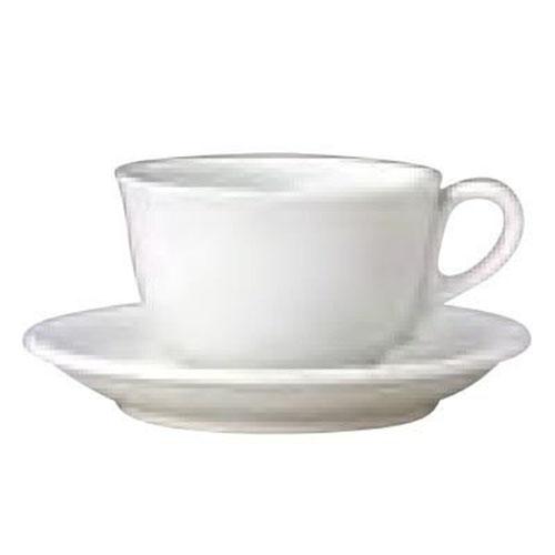 チュラミカビアンカ  レギュラーコーヒーカップ&ソーサーセット(10入) カップ径:90mm×幅113mm×高さ58mm/ソーサー140mm(高さ23mm)/プロ用/新品/送料