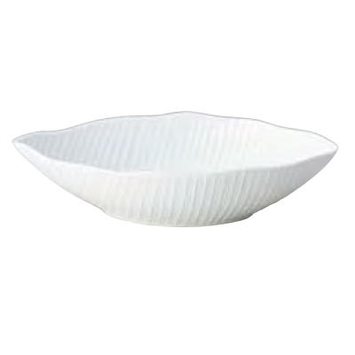 ボール 【ボールL_バナナリーフホワイト】 JacquesPergay/ W350×D195×H87mm /【業務用食器】