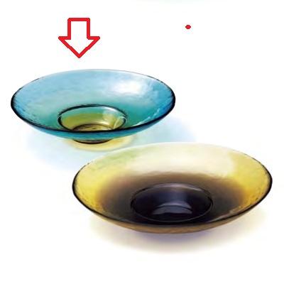 【ピリカ】【ワイドリム クーププレート S コバルト】【2入】【クープ皿】【Pirka】【業務用】【グループS】