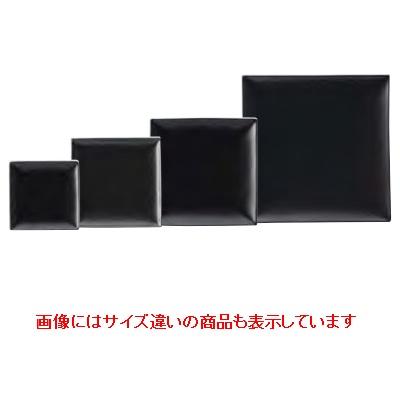 【スパッツィオ】 【スクエアプレート (M) 19cm ブラック】【4入】 【スクエアプレート】 【Spazio】 【業務用】【グループS】