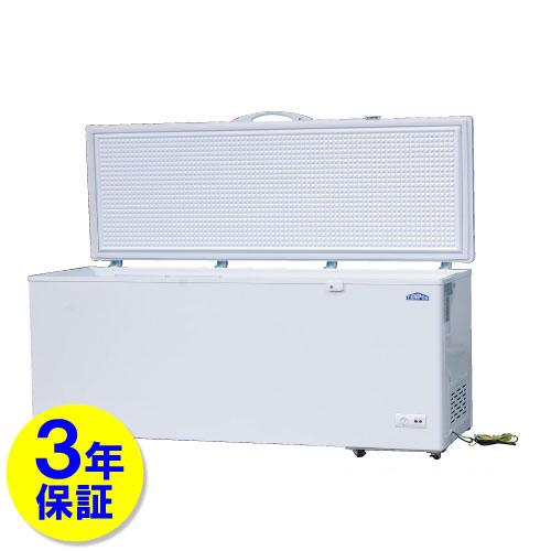 業界初!3年保証!【業務用】冷凍ストッカー 576L 冷凍庫 幅1930×奥行758×高さ825【送料無料】