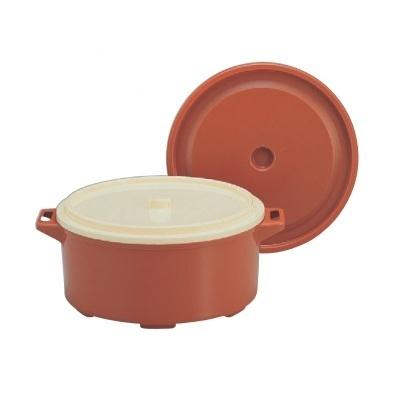 飯器 【保温食缶味そ汁用(小)6.5L】 高さ180 直径:324 【業務用】【グループI】