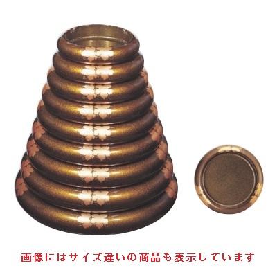 寿司桶 【S.D.X桶梨地ツタ内梨地尺5寸】 高さ81 直径:510 【業務用】【グループI】