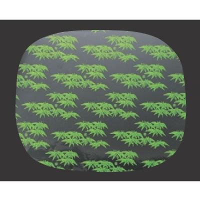 寿司桶 【D.X小判桶用シート笹(500枚/1袋)尺1寸用】 高さ65 直径:355 【業務用】【グループI】