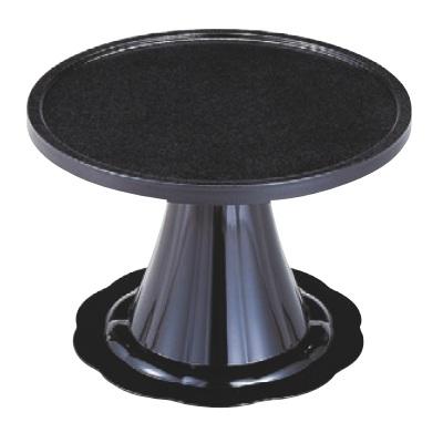 御膳 満月膳 黒石目 尺7寸 強化塗 高さ306 直径:510/業務用/新品