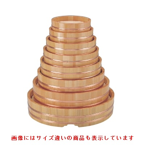桶 【丸桶(スノ子付)尺6寸】 高さ104 直径:488 【業務用】【グループI】