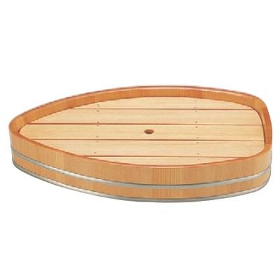 盛器 舟型盛込器白木(大) 幅475 奥行313 高さ81/業務用/新品
