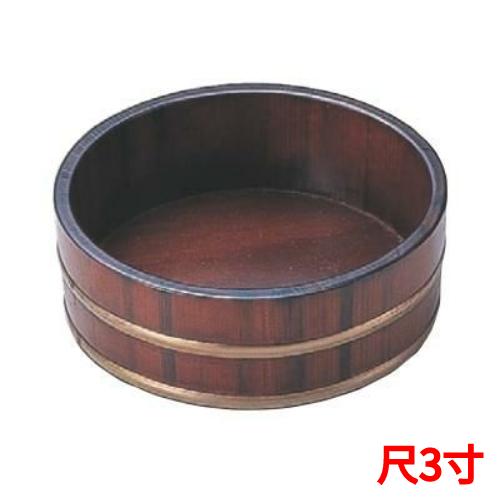 桶 盛桶茶木目尺3寸本体 高さ75 直径:390 /業務用/新品