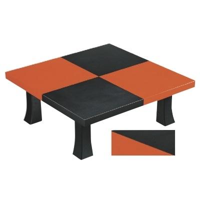 座卓 3尺角座卓 市松エンボス 幅900 奥行900 高さ322/業務用/新品