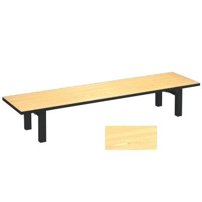 座卓 メラミン 檜(折足) 幅1500 奥行450 高さ325/業務用/新品