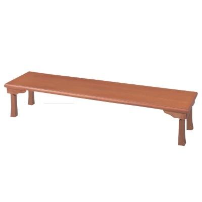 座卓 座卓(折脚)(ハニカム構造4CM厚突板貼り) 幅1800 奥行450 高さ345/業務用/新品