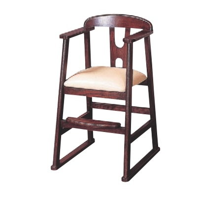 子供用イス 子供椅子ブラウン ブラウン 幅430 奥行510 高さ750 座高:450/業務用/新品