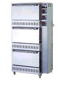 【業務用】ガス立体型炊飯器立体型・自動消火式(予約タイマー付) 5升(9.0L)×3 【RAS-155-T】【リンナイ】幅700×奥行688×高さ1,348【送料無料】