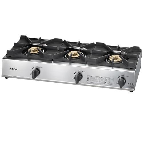 【即納可】【業務用】 リンナイ ガステーブル 3口タイプ RSB-306A 【送料無料】【新品】
