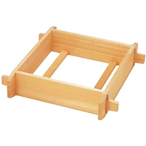 木製角セイロ 4寸 42cm/内寸縦420×横420×高さ120mm/業務用/新品