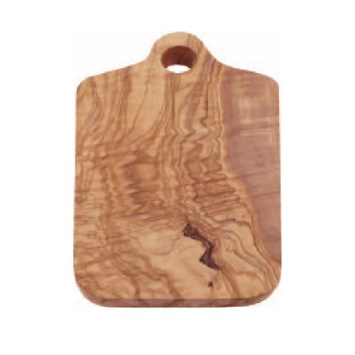 【オリーブ カッティングボード 持チ手付キ 300】 木製マナ板 幅290~300×奥行160~170×高さ15~20(mm) 12入【業務用】【グループY】