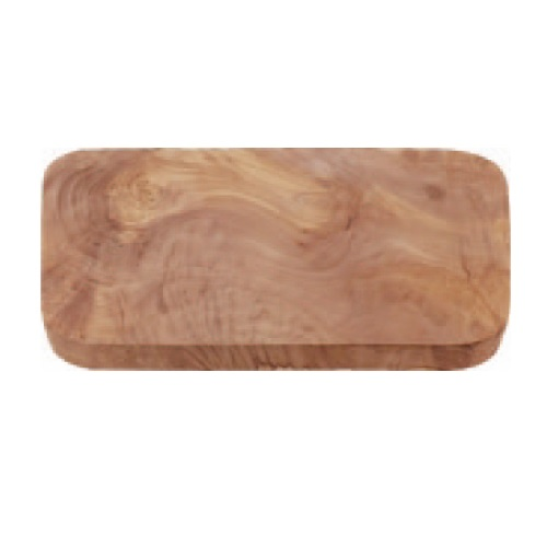 オリーブ カッティングボード レクタングル 300 木製まな板 幅290~300×奥行150~160×高さ15~20(mm) 12入/業務用/新品