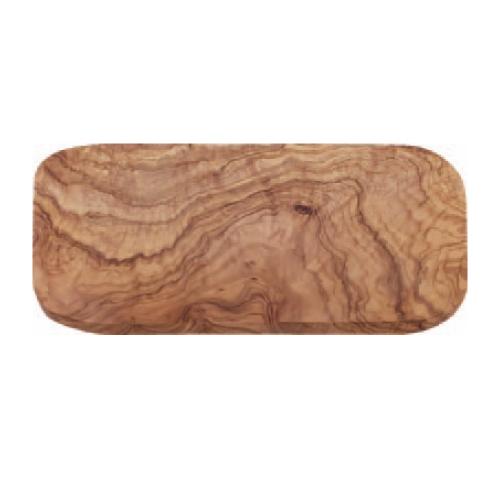【オリーブ カッティングボード レクタングル 400】 木製マナ板 幅390~400×奥行190~200×高さ15~20(mm) 12入【業務用】【グループY】