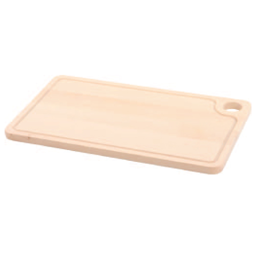 ビーチカッティングボード レクタングル D 木製まな板 幅420×奥行250×高さ16(mm) 10入/業務用/新品