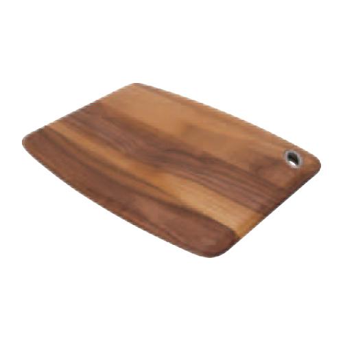 【B. ウォールナット カッティングボード】 木製マナ板 幅300×奥行225×高さ15(mm) 12入【業務用】【グループY】