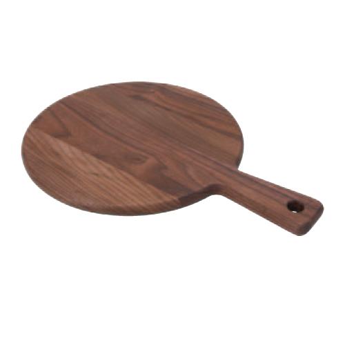 【B. ウォールナット カッティングボード】 木製マナ板 幅350×奥行250×高さ15(mm) 8入【業務用】【グループY】