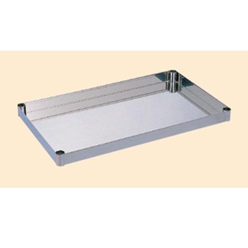 ステンレスニューパールワゴン用棚板 NO4-1SU/外寸:幅750×奥行450×高さ50mm【新品】【業務用】【送料無料】