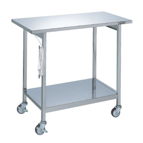 ステンレス実験テーブル SR-094SU/外寸:幅900×奥行450×高さ800mm【新品】【業務用】【送料無料】