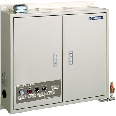 ニチワ 壁掛式電気瞬間湯沸器 21.8号数 多湯量使用向き(薄型・省スペースタイプ) NEB-41 【送料無料】【業務用】